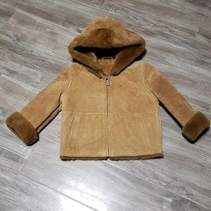 Ugg Toddler Suede Coat